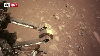 Il rover Nasa Perseverance muove i primi passi su Marte