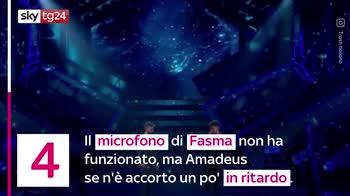 VIDEO Sanremo 2021, le gaffe e i momenti più divertenti
