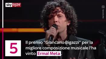 VIDEO Sanremo 2021, tutti i premi del Festival