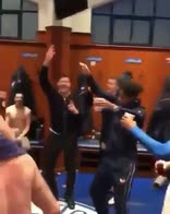 Rangers a un passo dal titolo: la festa dello spogliatoio