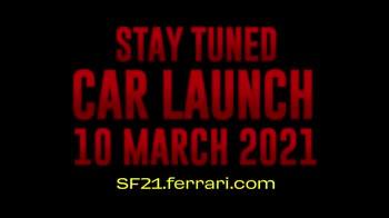 f1 ferrari lancio presentazione sf21