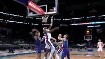 NBA, i 32 punti di Jerami Grant contro Charlotte