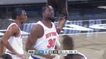 NBA, i 33 punti di Julius Randle contro Brooklyn