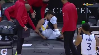 NBA, infortunio all'osso sacro per Steph Curry vs Houston