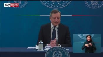 """Decreto sostegni, Draghi: """"Dare più soldi possibile a tutti"""""""