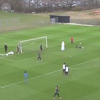 Delaney, il gol nel ritiro della Danimarca è impressionante