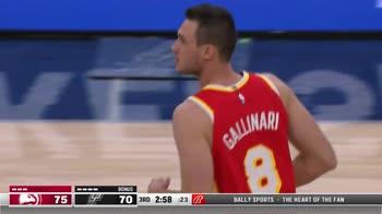 NBA, 16 punti per Danilo Gallinari contro San Antonio
