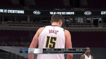 NBA Nikola Jokic e James Harden giocatori del mese di marzo