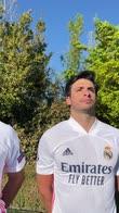 Real-Liverpool, Sainz è pronto: scende in campo in giardino