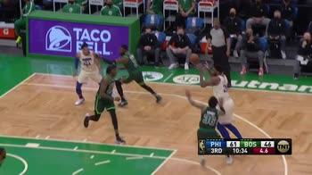 NBA, 35 punti di Joel Embiid contro Boston