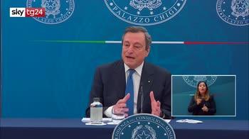 ERROR! Draghi, Voglio vedere riaperture in sicurezza