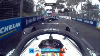 turve vergne dennis formula e roma incidente