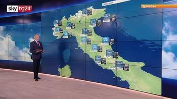 Ciclone nordafricano porta maltempo al sud e in Sardegna