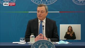 Draghi: dal 26 aprile torna la zona gialla