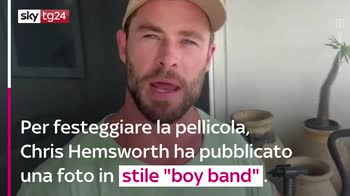 VIDEO Thor, Chris Hemsworth pubblica uno scatto dal set