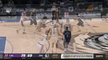 NBA, 6 punti per Nicolò Melli contro i Lakers