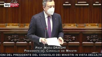 ERROR! Draghi, Su Recovery contributo Parlamento non finisce qui