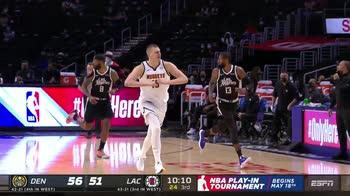 NBA Highlights: L.A. Clippers-Denver 104-110