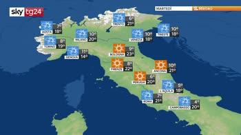 Previsioni meteo: settimana all'insegna del bel tempo