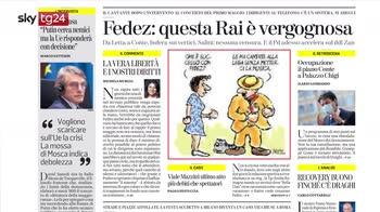 Rassegna stampa, i giornali del 3 maggio
