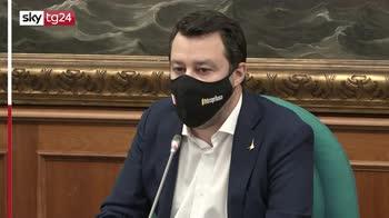 """Salvini: """"Mi aspetto via il coprifuoco entro il 10/05"""""""
