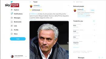ERROR! Mourinho alla Roma, Buffa: ha le spalle larghe, si prenderà responsabilità