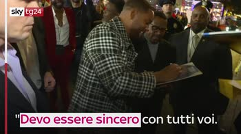 Will Smith mostra la pancia