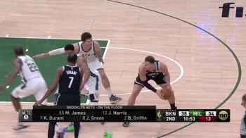 NBA, 32 punti di Kevin Durant contro Milwaukee