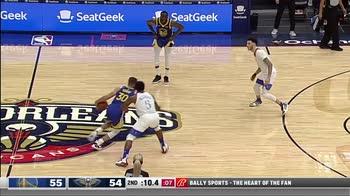 NBA, 37 punti di Steph Curry contro New Orleans