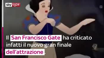 VIDEO Biancaneve e il bacio: giostra di Disneyland criticat