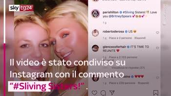 VIDEO Paris Hilton: video sull'amicizia con Britney Spears