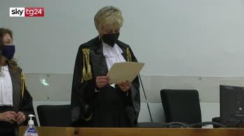 Ergastolo ai due imputati per omicidio Rega Cerciello, la lettura della sentenza