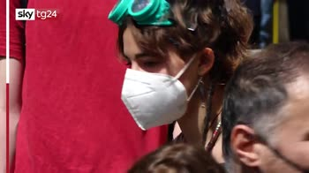 Protesta di studenti e precari davanti al Miur