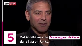 VIDEO George Clooney, 8 curiosità su di lui