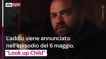 VIDEO Grey's Anatomy, l'addio di Jesse Williams alla serie
