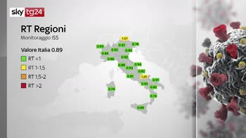 Calabria, basilicata, puglia gialle, val d'Aosta arancione