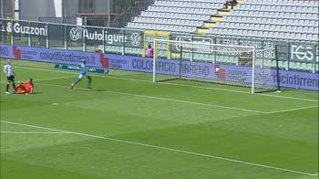 Spezia-Napoli, il gol di Osimhen