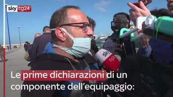 In porto a Mazara il peschereccio mitragliato dai libici