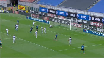 Inter-Sampdoria 5-1, gol e highlights
