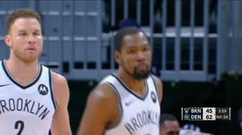 NBA, 33 punti di Kevin Durant contro Denver