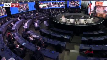 ERROR! Futuro dell'Europa, Macron: nella crisi l'Ue ha scelto la solidarietà