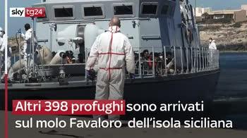 Lampedusa, oltre mille migranti sbarcati nelle ultime ore