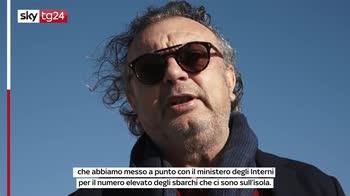 """Lampedusa, sindaco: """"Preoccupati da sbarchi"""""""