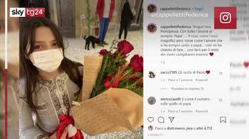 Paolo Rossi, rose rosse per le figlie al compleanno