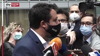 Comunali, Salvini: per candidature sindaci serve ok alleati