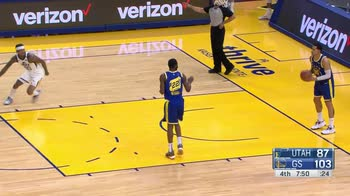 NBA, 41 punti di Jordan Clarkson contro Golden State