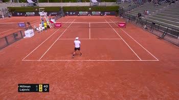 internazionali tennis roma millman lajovic