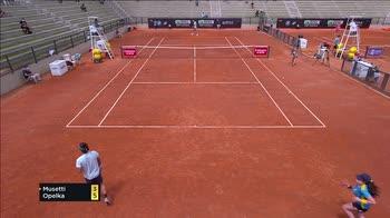 Internazionali, Opelka elimina Musetti con un doppio 6-4
