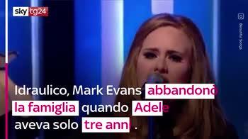 VIDEO Morto il padre di Adele, non si parlavano da anni
