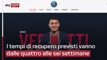 ERROR! Infortunio per Verratti, Europeo a rischio